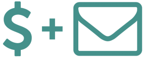 Pay and Mail Icon